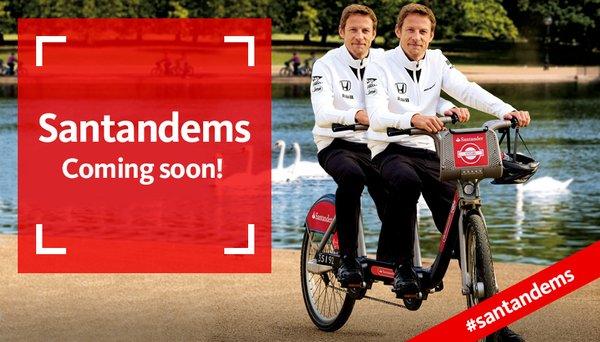Santander bike share AFDJ